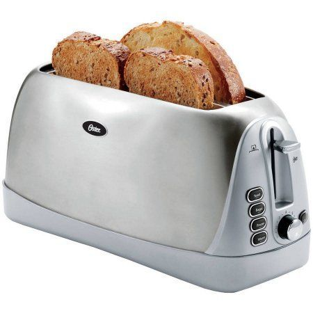 oster tssttr6330 np 2 extra long slice toaster stainless steel oster tssttr6330 np 2 extra long slice toaster stainless steel