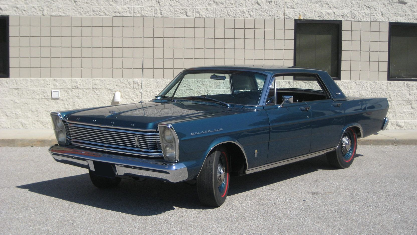 1965 Ford Galaxie 500 4 Door Presented As Lot F261 At Indianapolis