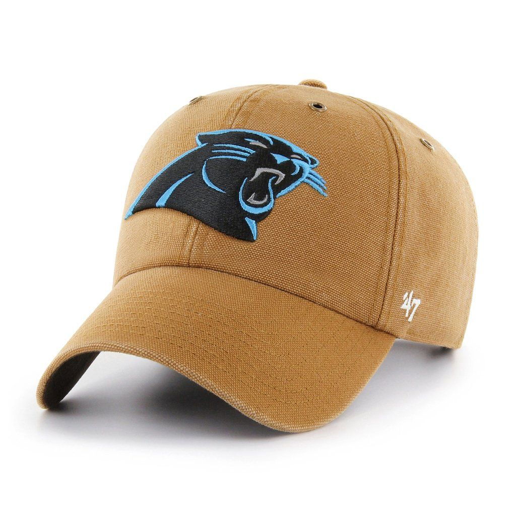 new styles 9e69b a081b CAROLINA PANTHERS CARHARTT X   47 CLEAN UP    47 – Sports lifestyle brand   Licensed  NFL, MLB, NBA, NHL, MLS, USSF   over 900 colleges. Hats and apparel.