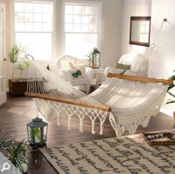 bedrooms mad about indoor hammocks   mayan hammock indoor hammock and      rh   pinterest