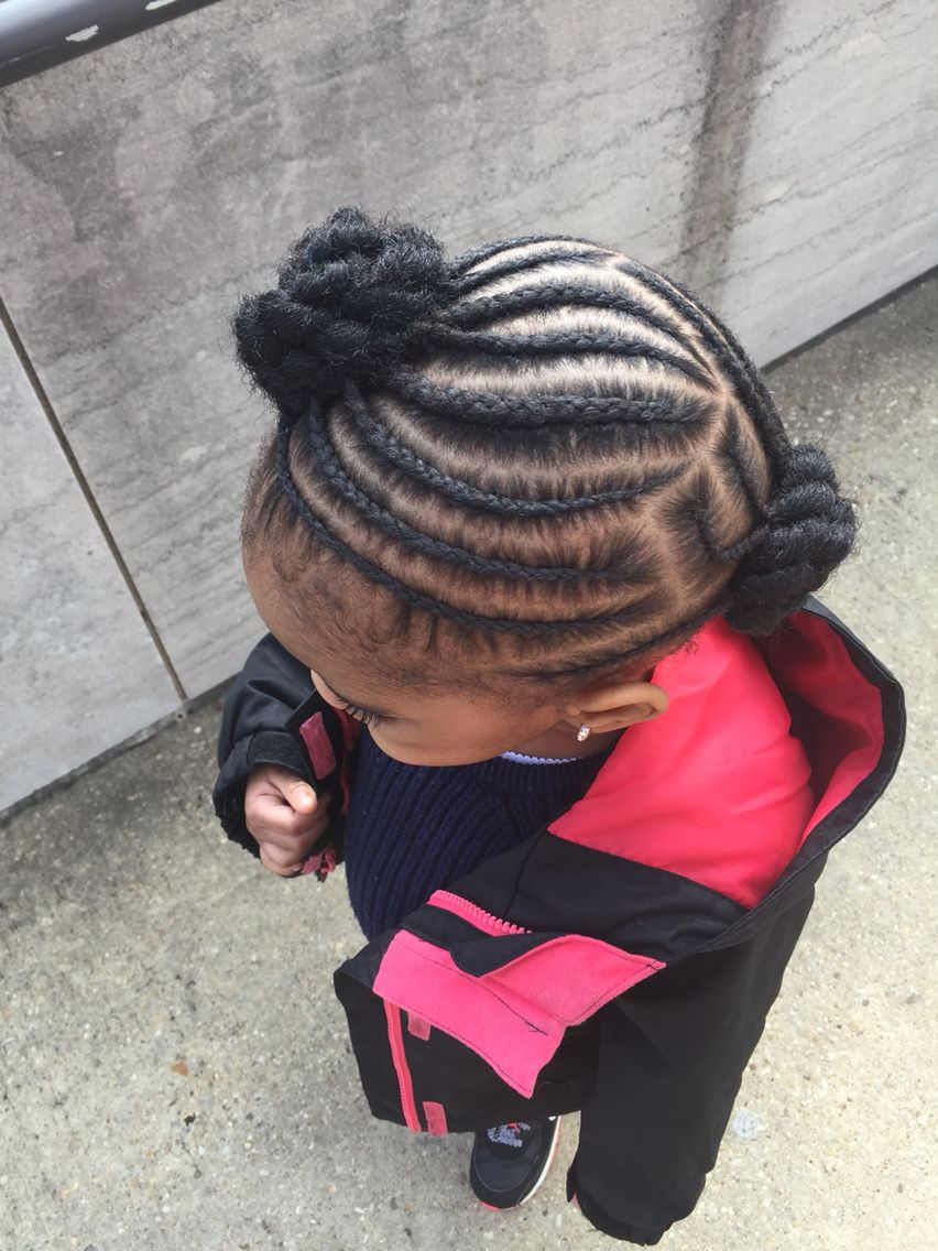 Protective hairstyle toddler girl | Kids hairstyles ...