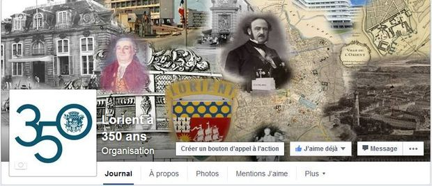 Page Facebook Lorient a 350 ans | Archives de Lorient