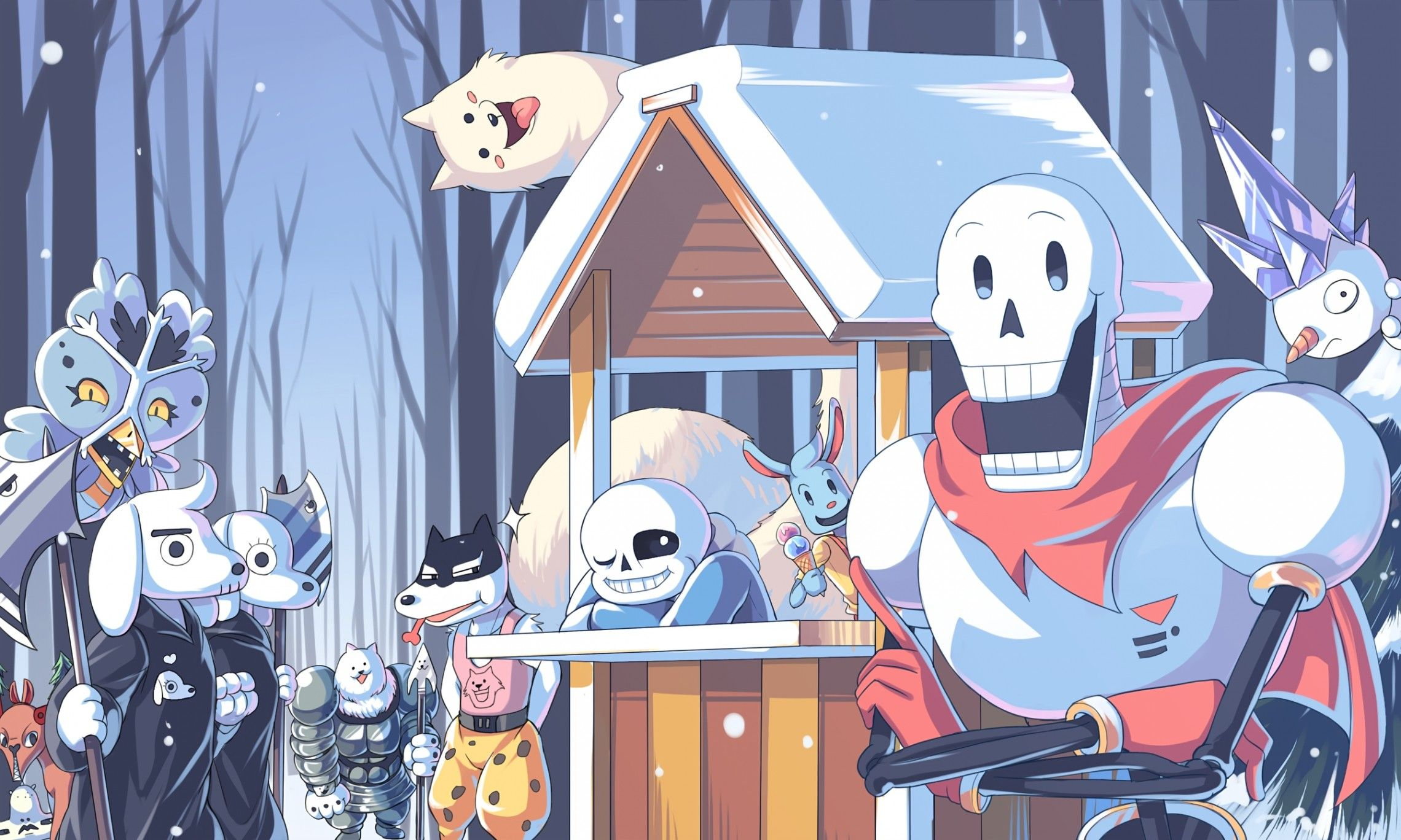 2280x1368 25 Papyrus Undertale Hd Wallpapers Backgrounds Wallpaper Abyss With Undertale Wallpaper Papyrus Undertale Undertale Fanart Undertale Art