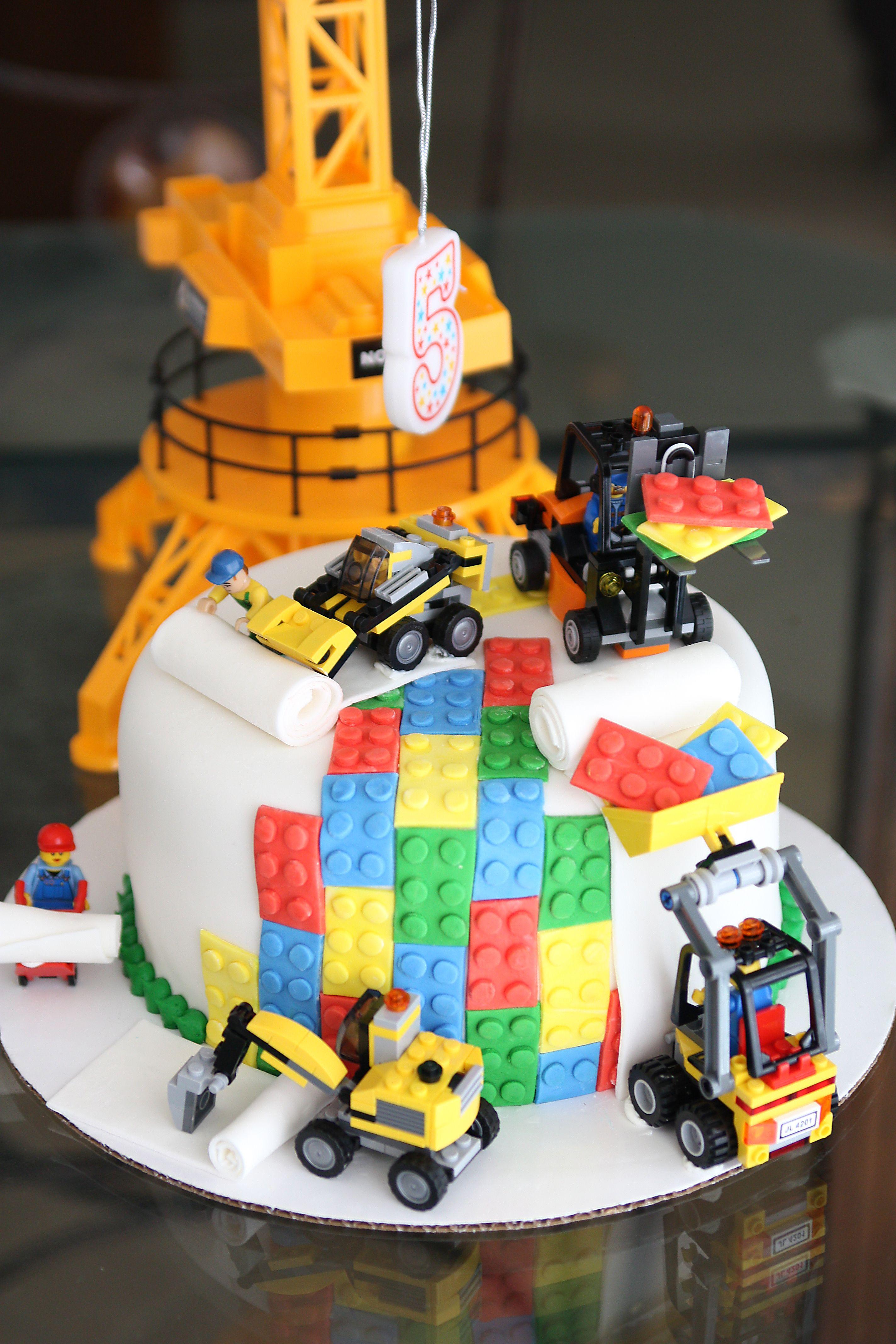 An Amazing Lego Cake My Little Boy Is 5