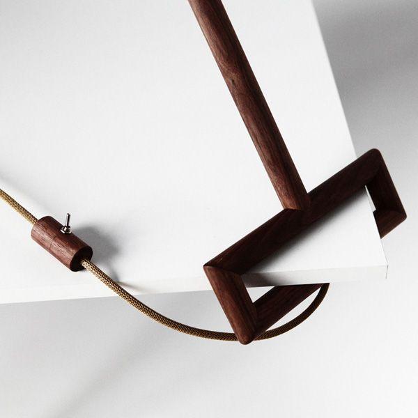 Ugol - Desk Lamp by Yaroslav Misonzhnikov » Yanko Design