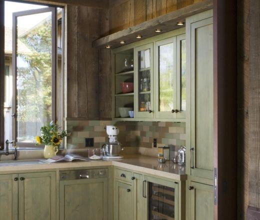 Green Cabinets Lighting And Task Lighting On Pinterest