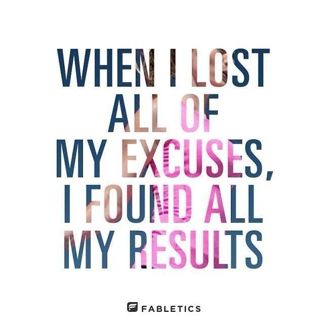 That's Right Get Rid Of The Excuses And #JustDoIt Www