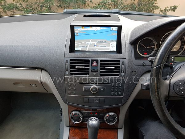 W204 Navigation Android Installation With Images Mercedes Benz