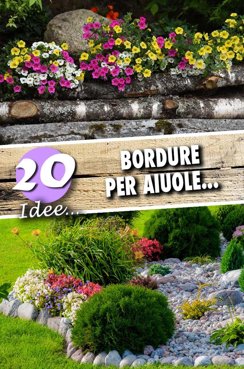 Piante Da Bordura Giardino 20 bordure per aiuole da copiare per un giardino magnifico