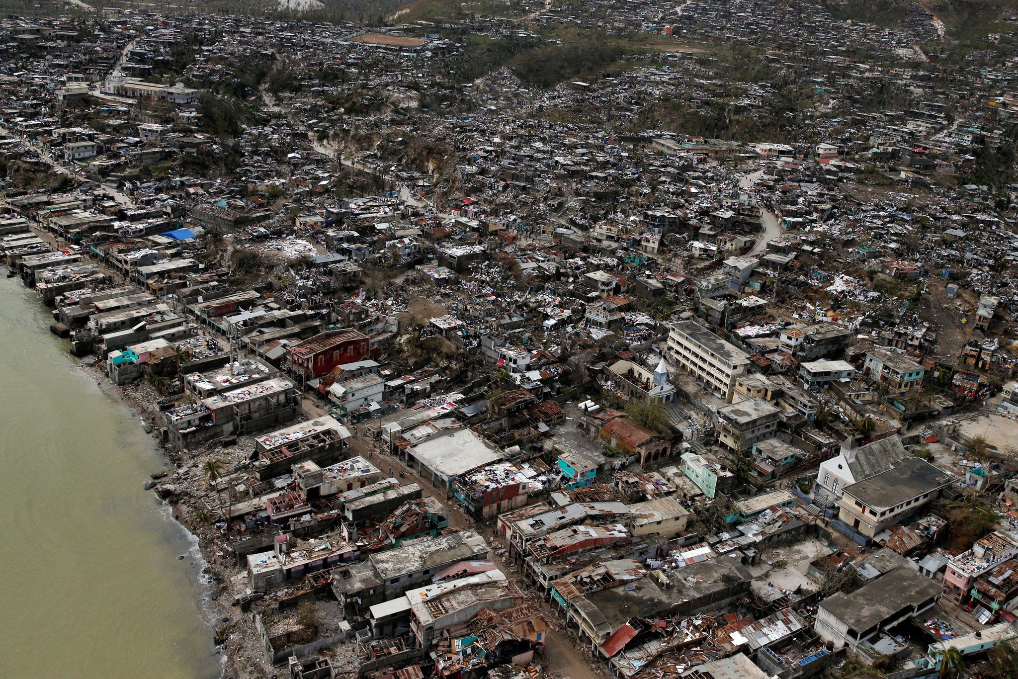 After Hurricane Matthew Devastation In Southern Haiti Hurricane Matthew Photos Of The Week Haiti