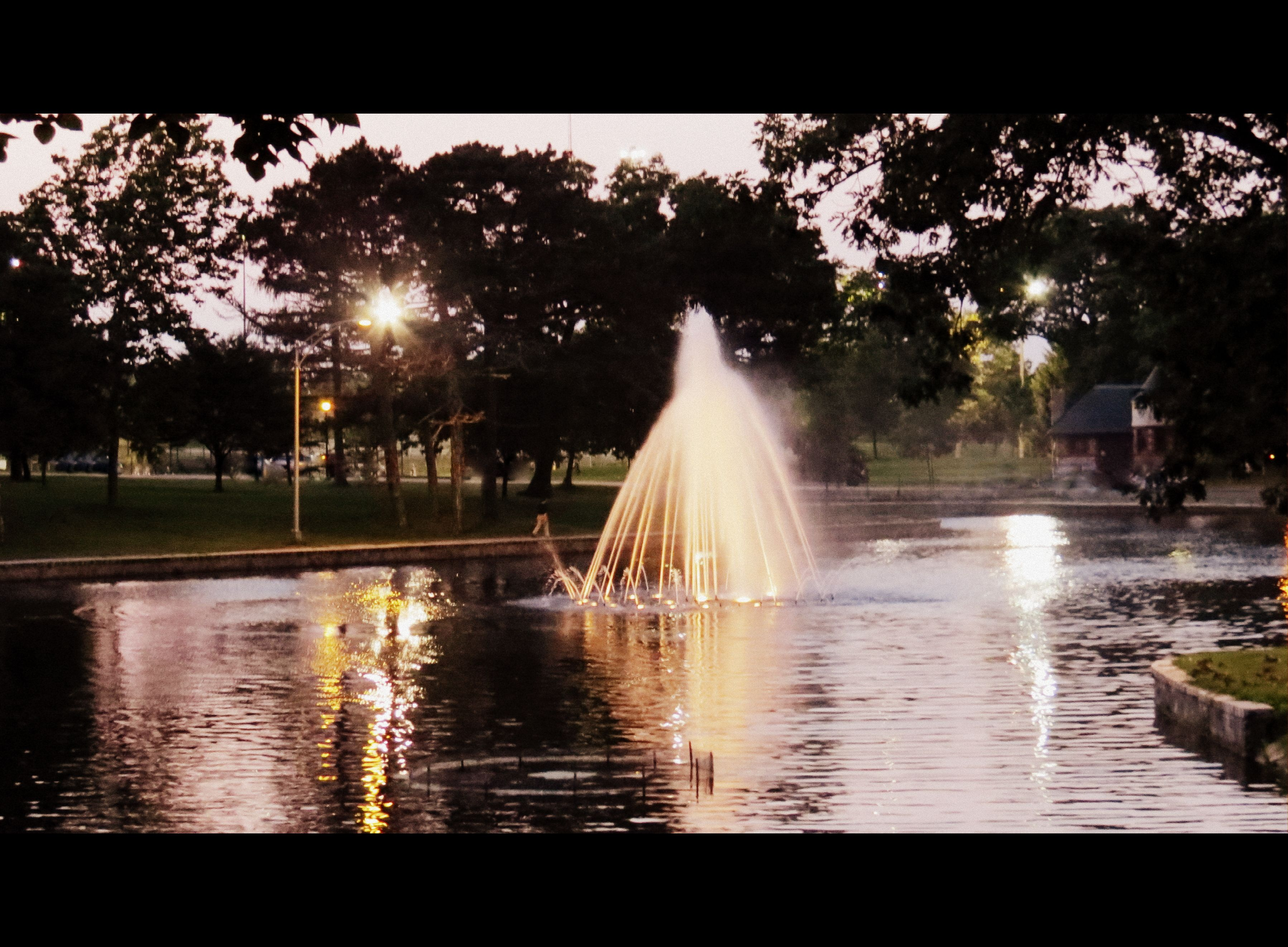 August 24th, 2014...Night falls in the Oaks