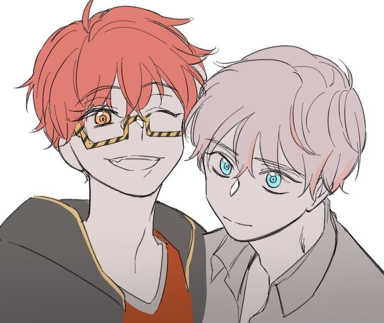 Pin by Faboo Smol on Mistake Messenger Mystic messenger