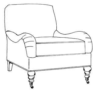 Etonnant HF 2400 CH   Chair   Hallman Furniture