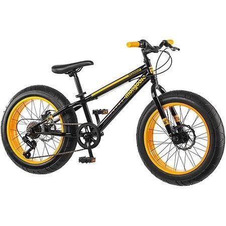 Mountain Bike Mongoose 20 Inch All Terrain Fat Tire Sleek Look ...