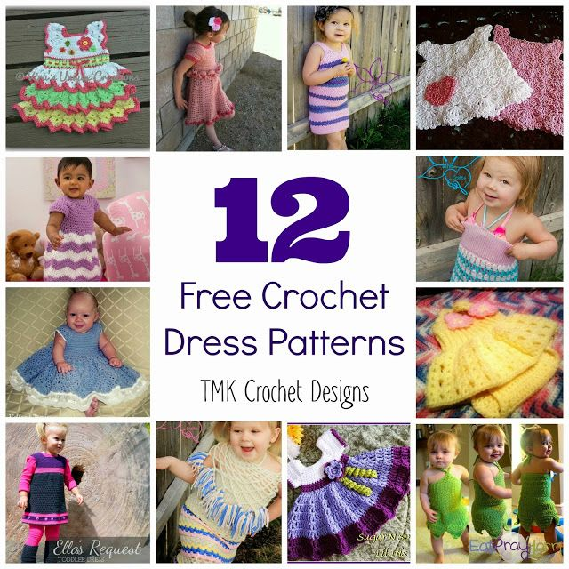 Free Crochet Pattern Round-Up: Dresses. | tejido | Pinterest ...