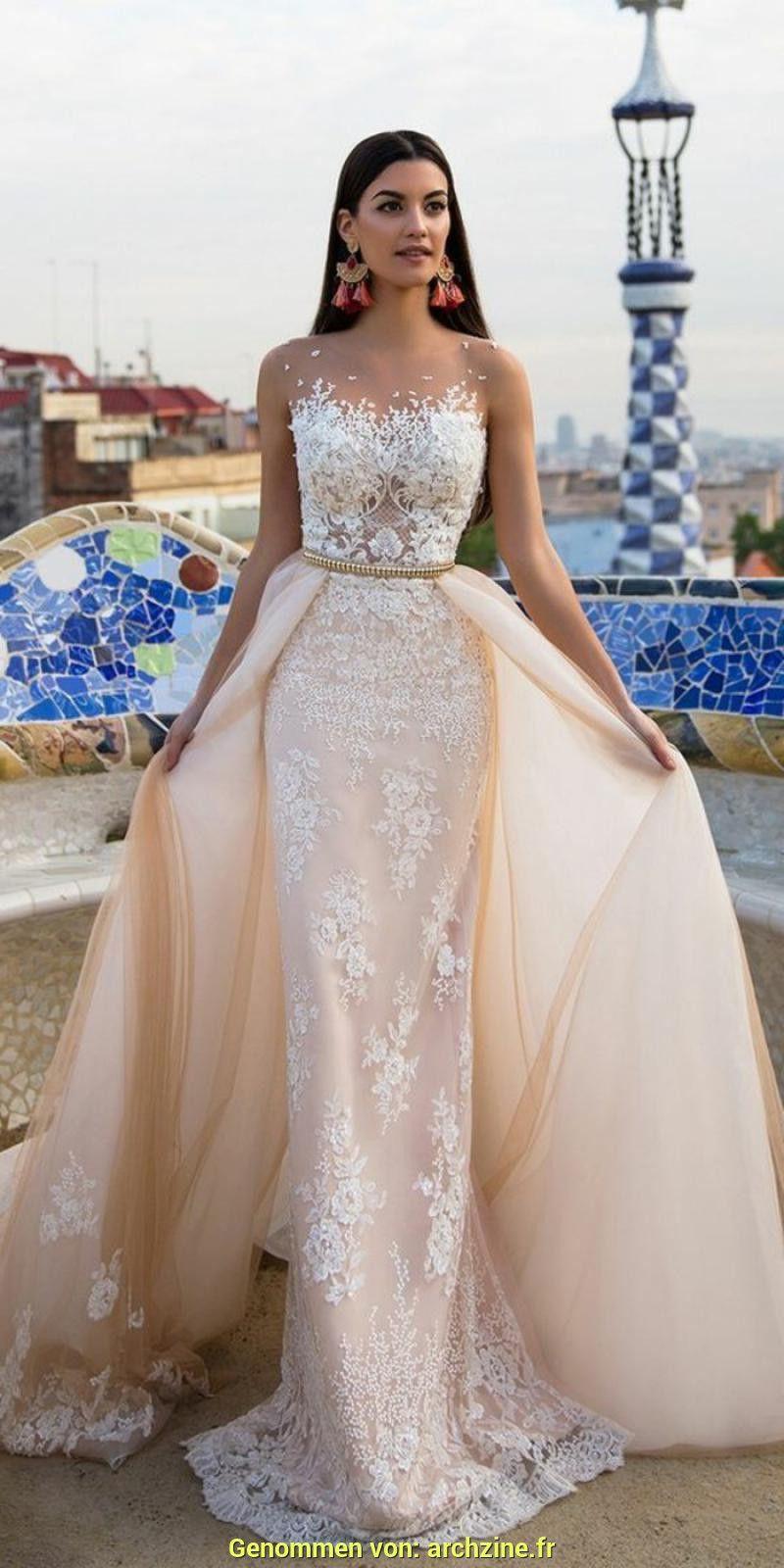 Robe de mariée saumon | Robe de mariée couleur,