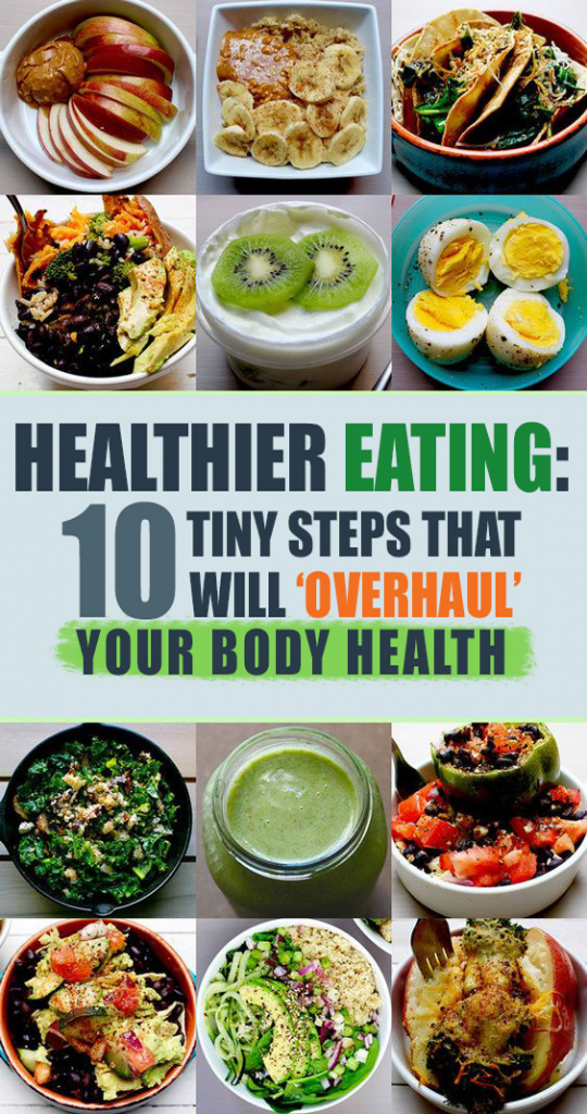 Photo of Healthier Eating: 10 Tiny Steps That Will 'Ov