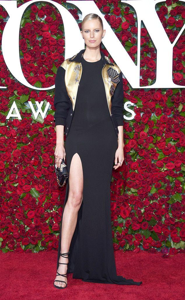 Karolina Kurkova in Coach attends the 2016 Tony Awards on June 12, 2016