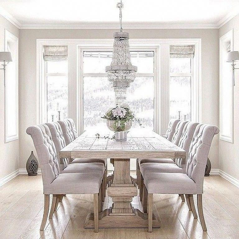 25 Elegant And Exquisite Gray Dining Room Ideas: The Appropriate Lighting Setup Can Add To Your Dining-room