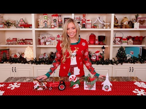 Home For Christmas Box Cards SVG Kit Assembly Tutorial