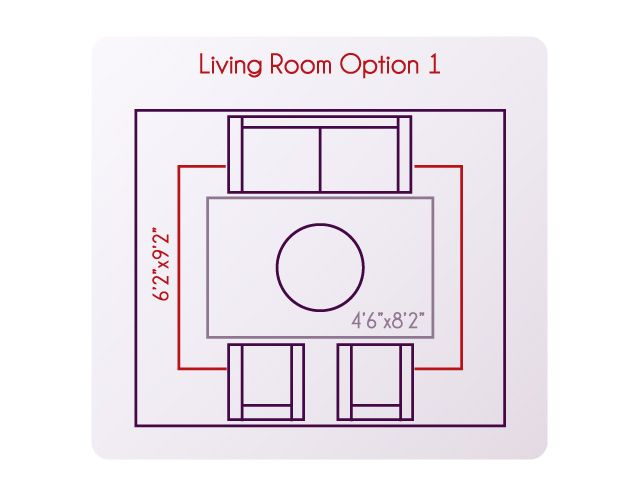 What Size Rug Should You Use For Your Living Room Or Dining