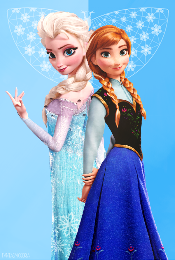 Anna and elsa frozen 35896893 600 600 889 princess anna queen elsa pinterest - Princesse anna et elsa ...