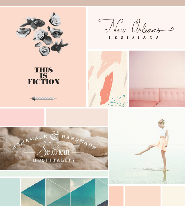 Such Gorgeous Colors And Softness: Simply Gorgeous Moodboard. The Type And Soft Colors Are