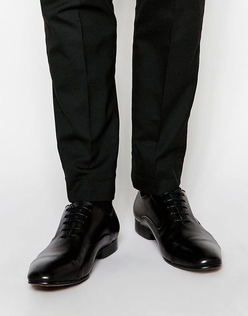 Chaussures par Dune En cuir lisse Fermeture par lacets Bout pointu Bout rapporté Traiter avec un agent protecteur pour cuir Tige : 100% cuir véritable