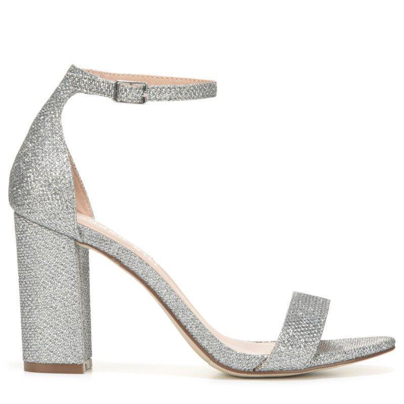 9d85941614c5 Madden Girl Women s Beella Ankle Strap Sandals (Silver Lurex)   AnklestrapsHeels