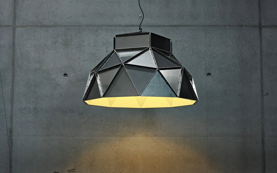 Apollo By Romy Kuhne Pendant Lamp Contemporary Stainless