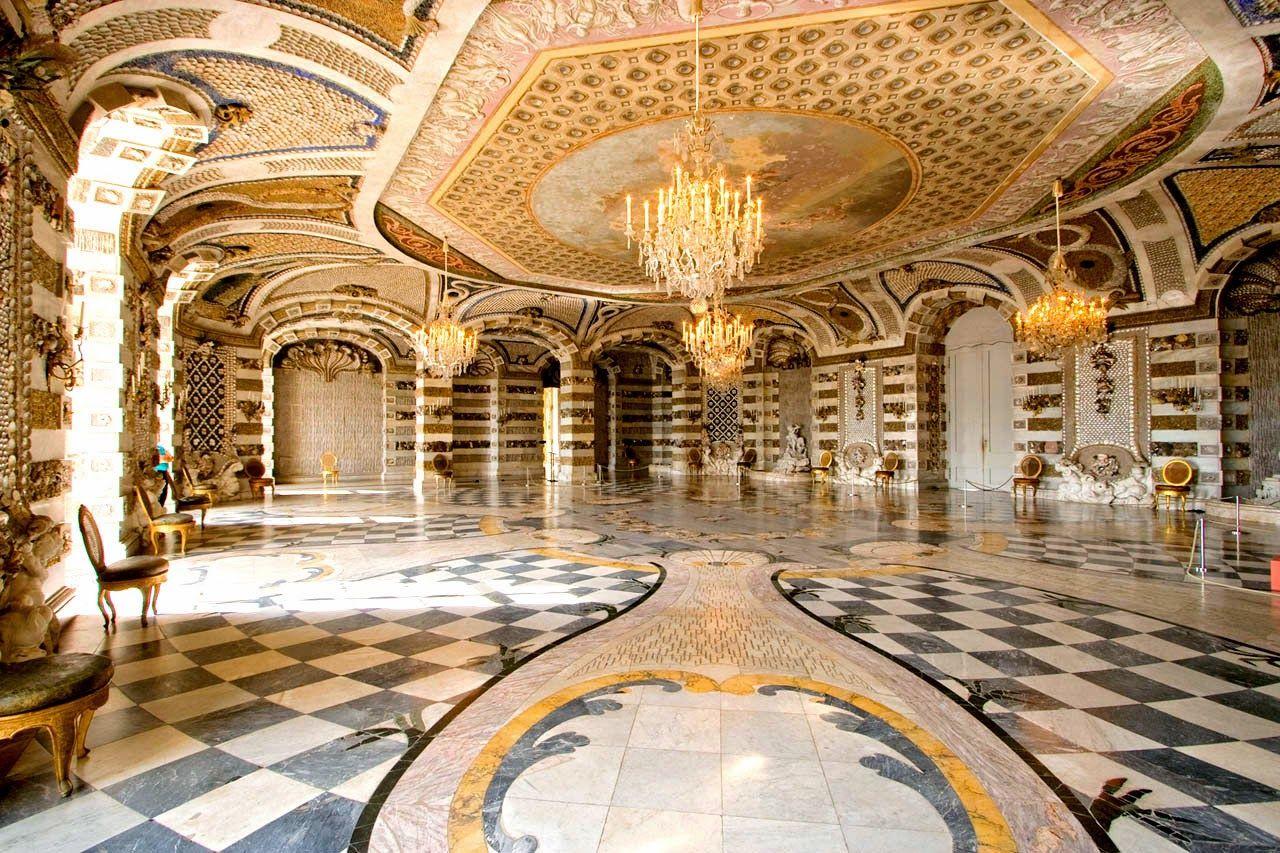 Extraordinary Detail Neues Palais Potsdam Germany New Palace Castle Rooms Castles Interior