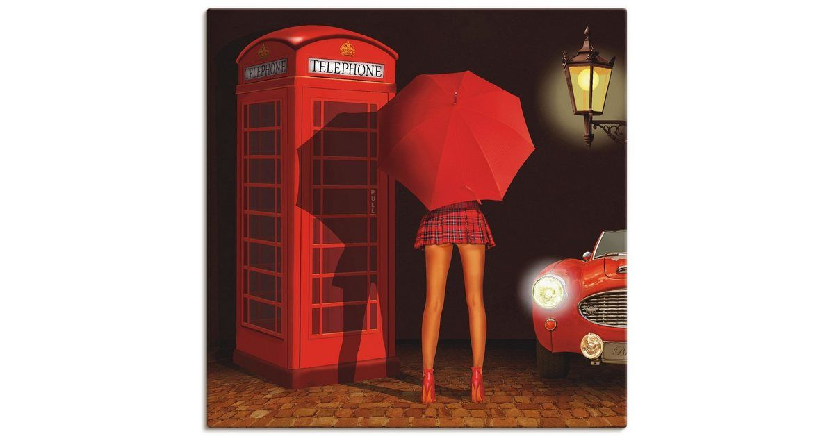 Photo of Art Print Poster »Mausopardia: Call me«