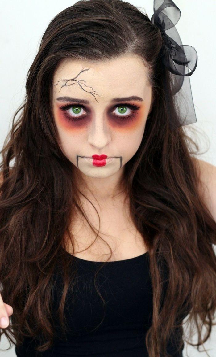 Halloween Schminke Zum Selber Machen.Halloween Make Up Ideen Das Gesicht Für Halloween Völlig Verändern