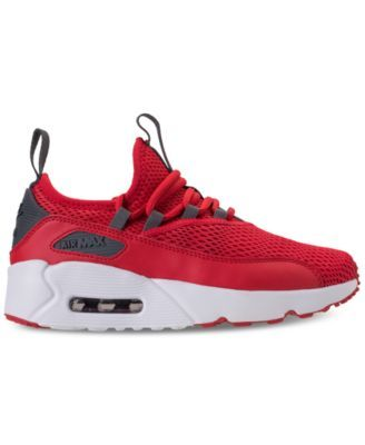 04e3899226 Nike Boys' Air Max 90 Ultra 2.0 Ease Casual Sneakers from Finish Line - Red  5.5