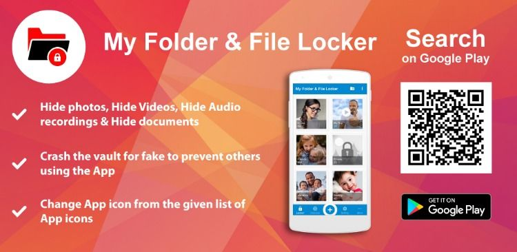 File Hide App Features: • Fake PIN to show fake content of