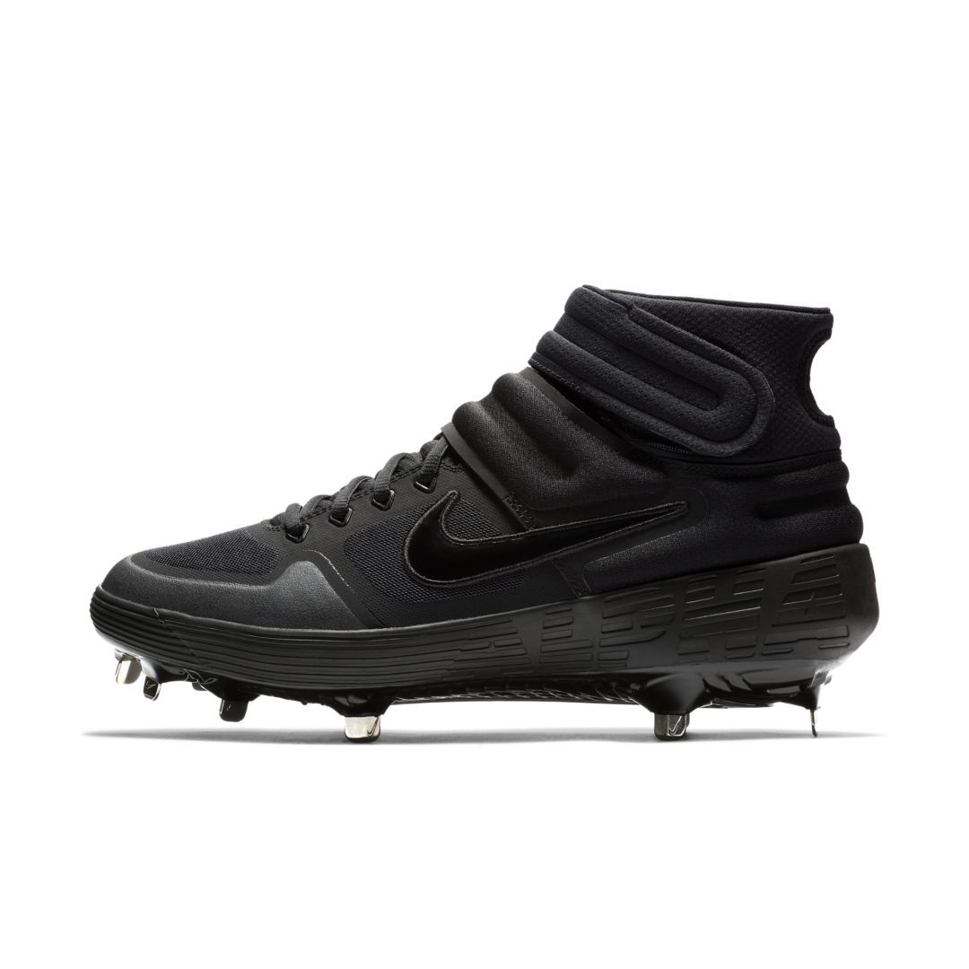Nike Alpha Huarache Elite 2 Mid Baseball Cleat Size 12.5 (Black) f44fa8d23