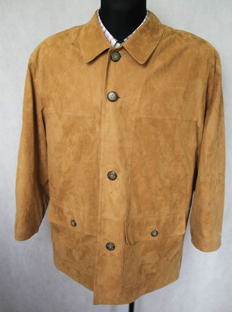 5b9593ce312e Mens ROMAN ROTHSCHILD SWITZERLAND Faux Leather Jacket Blazer sz UK 46''  Brown #ROMANROTHSCHILDofSWITZERLAND #OtherJackets