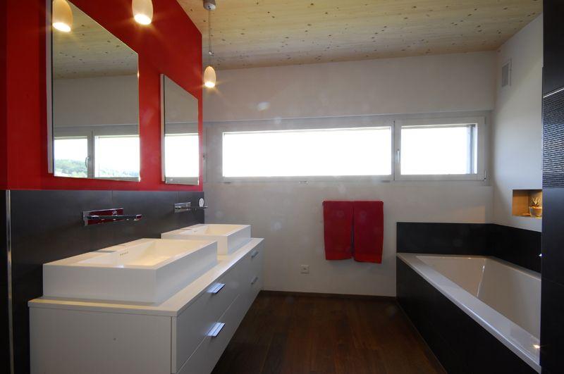 Einfamilienhaus, Bad Wurzach 13 #Boden #Fenster Wohnen Pinterest - badezimmer jona