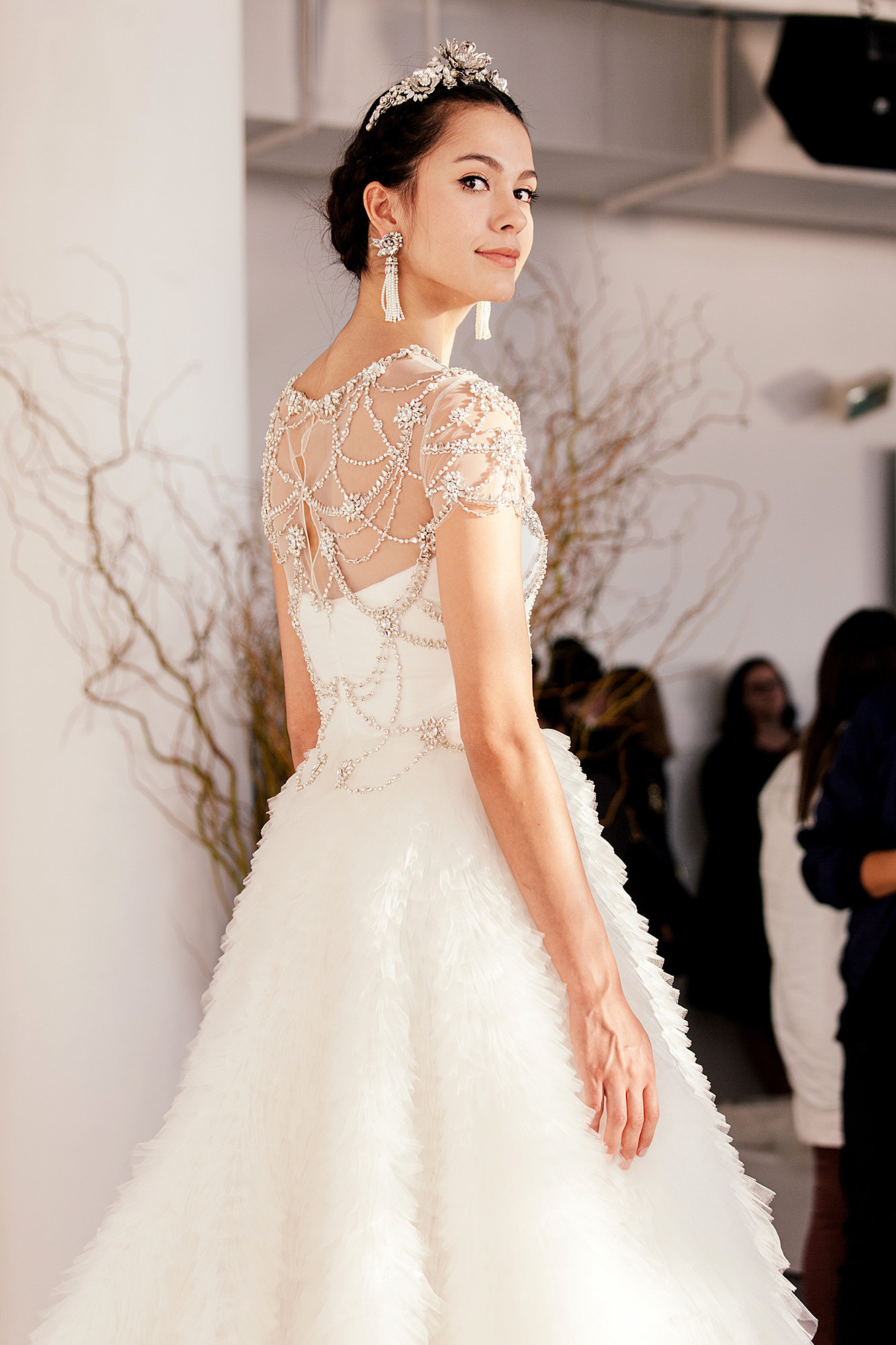 Six New Bridal Trends | Marchesa, 2015 wedding trends and Wedding trends