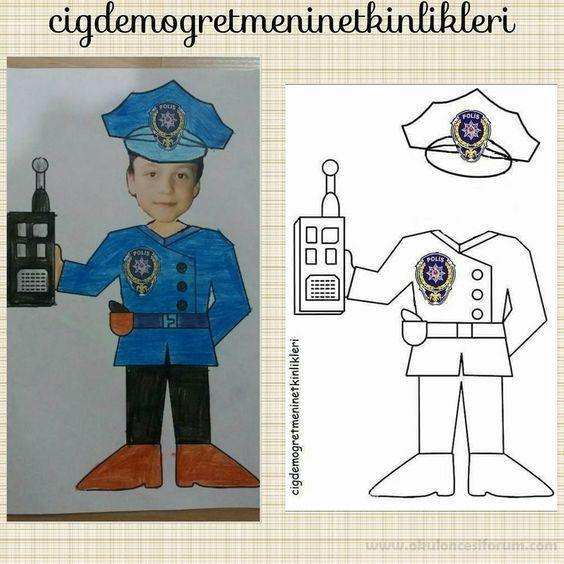 Polis Haftası Etkinliğimiz | Recursos | Pinterest | Profesiones ...