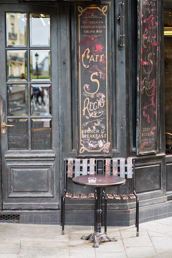 Paris Cafe Fine Art Photography Print $30.00