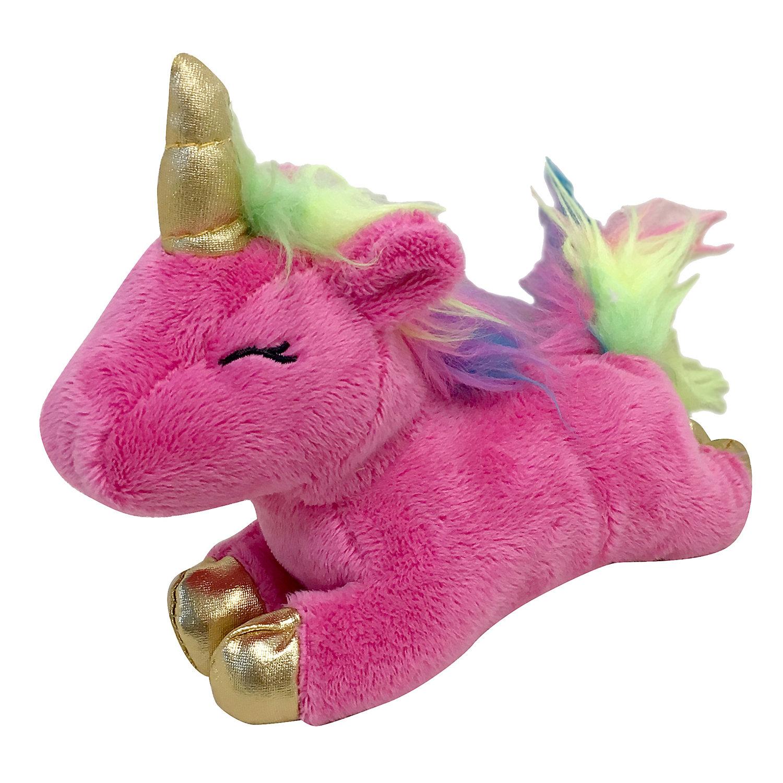 Foufoubrands Foufit Unicorn Plush Pink Dog Toy Small Best Dog