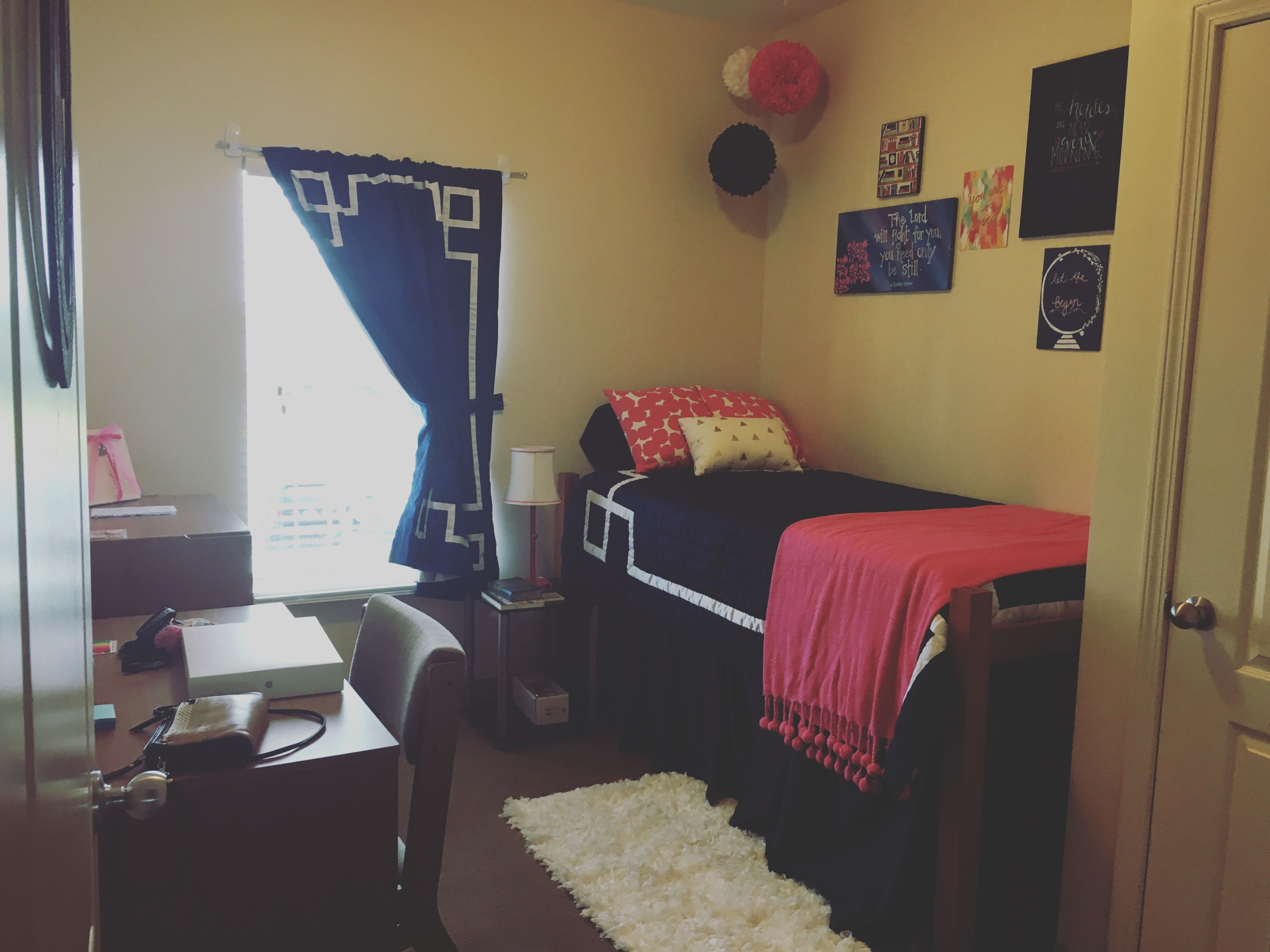Troy University Trojan Village Dorm Room