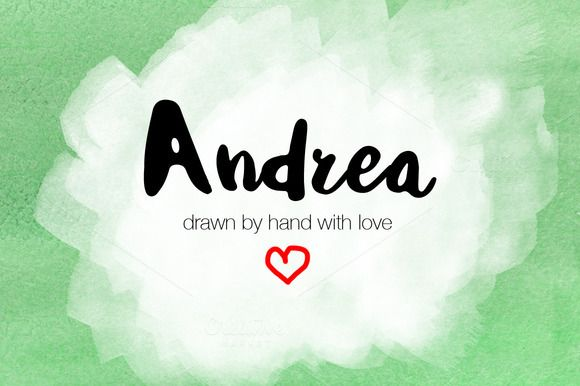Andrea Pretty Names Typography Names With Meaning