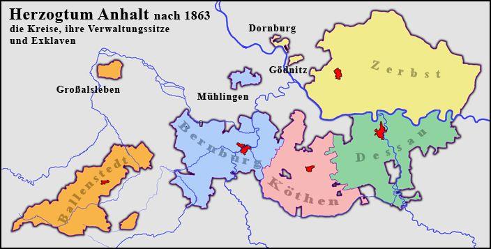 Herzogtum Anhalt