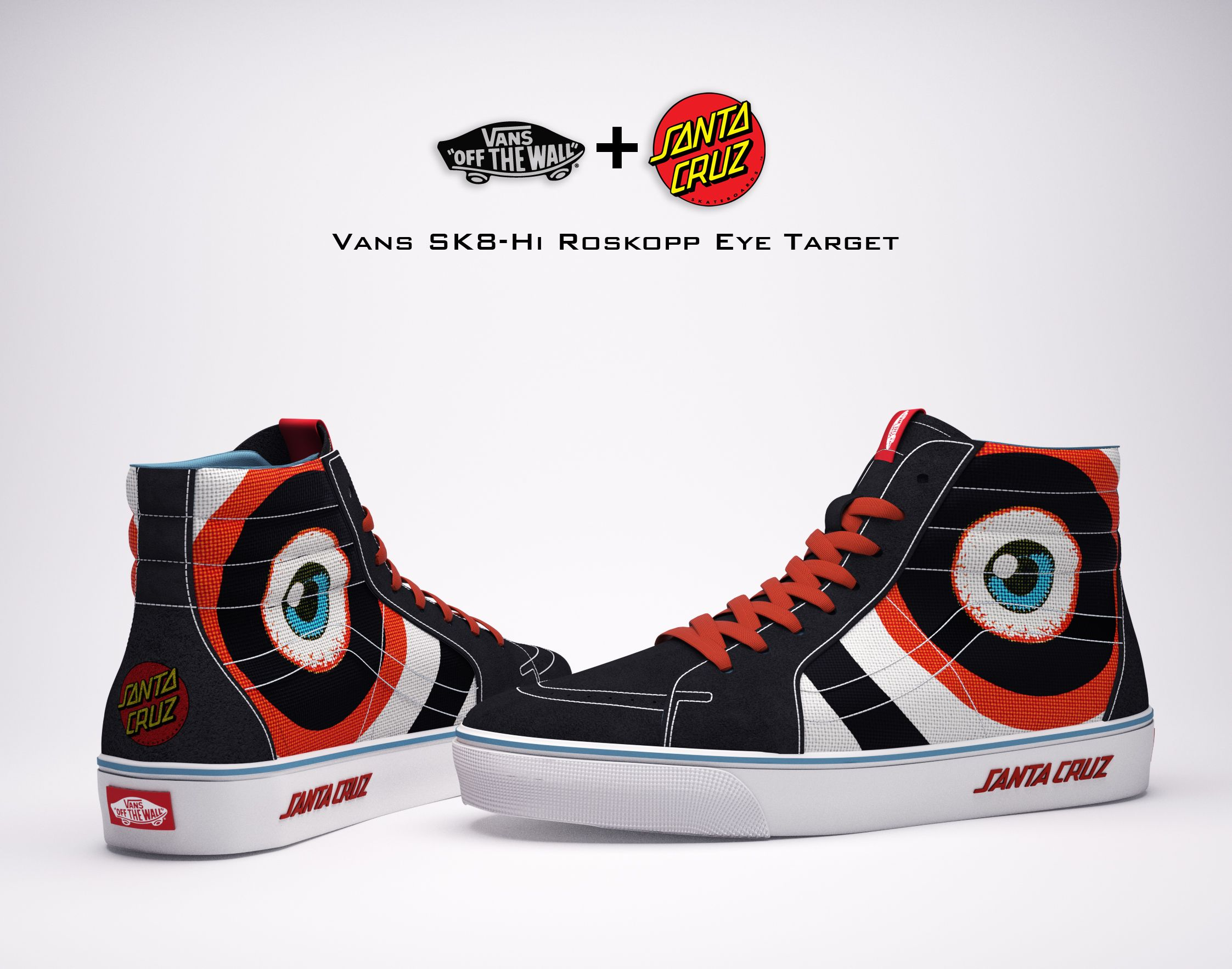 Vans & Santa Cruz Skateboards Collaboration on Behance