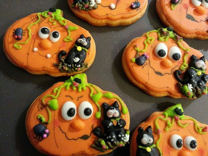 Halloween galletas decoradas Ana Cookies Pinterest Decorating
