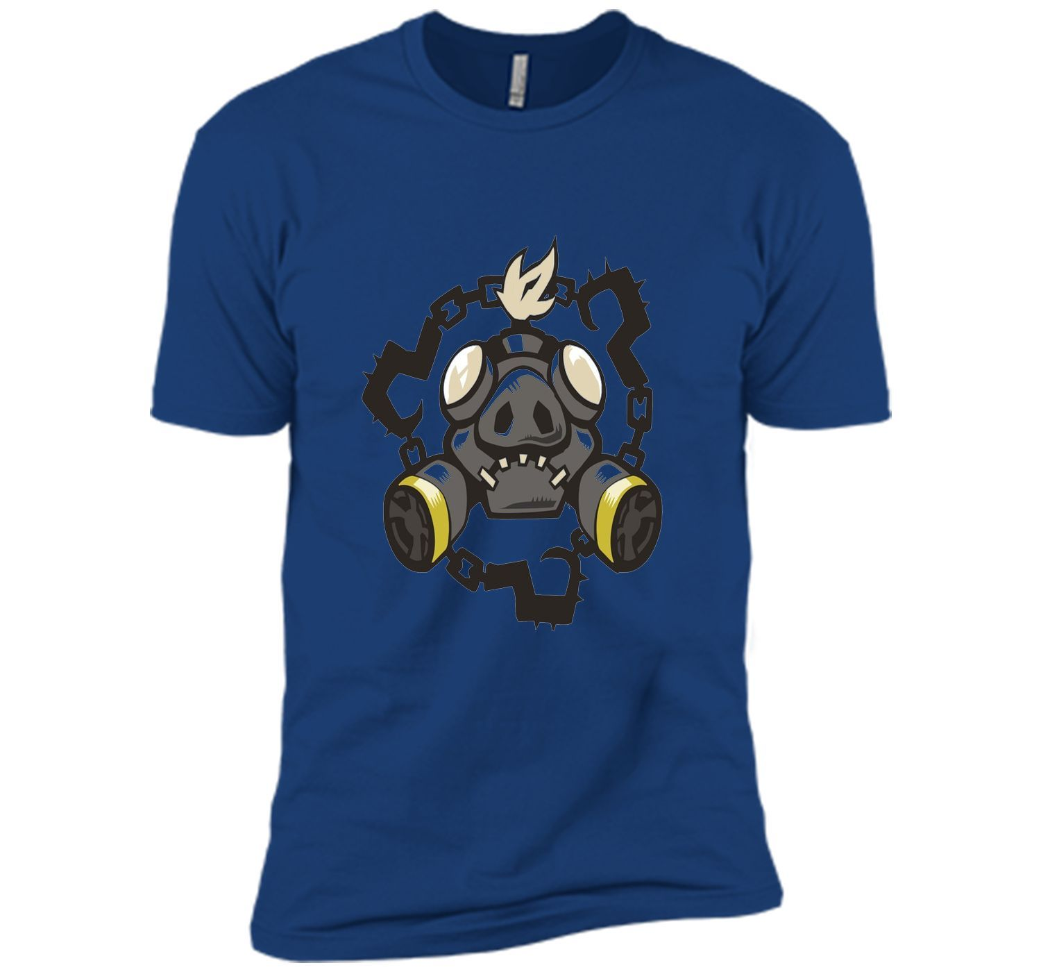 Overwatch Roadhog Chains Spray Tee Shirt