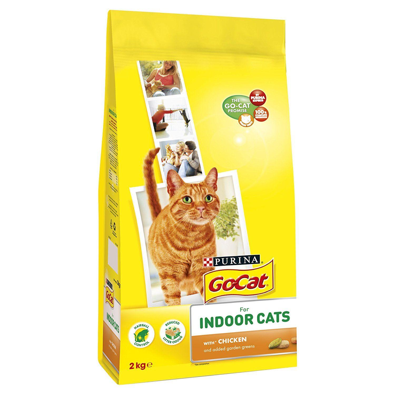 GoCat Indoor Chicken, Vegtable and Garden Greens 2 kg