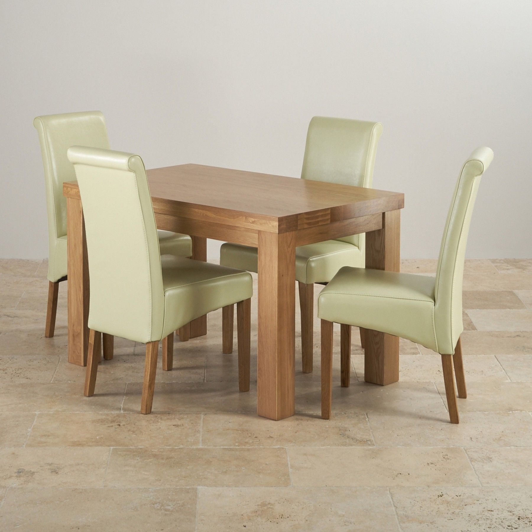 Astounding This Modern Dining Set Combines A Stunning 4Ft Chunky Dining Pabps2019 Chair Design Images Pabps2019Com
